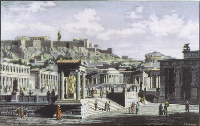 agora-antyczna-grecja-ateny-starożytność-hellada