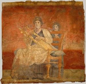 kitara-kobieta-muzyka-grecja-hellada-starożytność