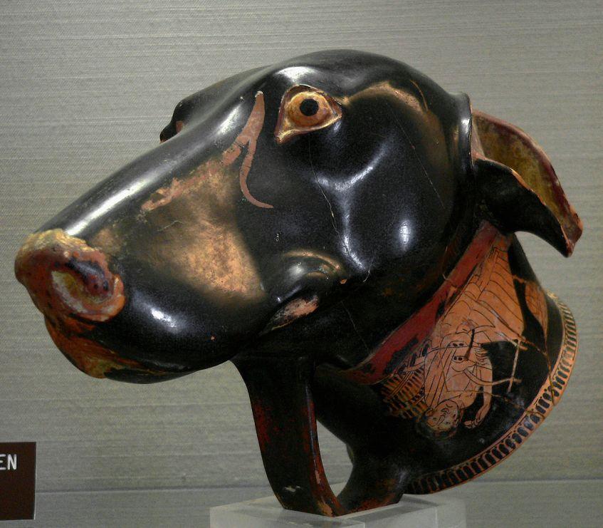 psy-zwierzęta-starożytna-grecja-antyczna-hellada